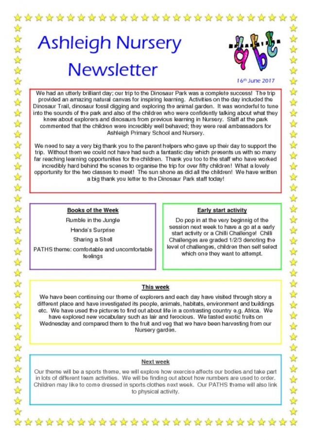 thumbnail of 16 06 17 Nursery Newsletter