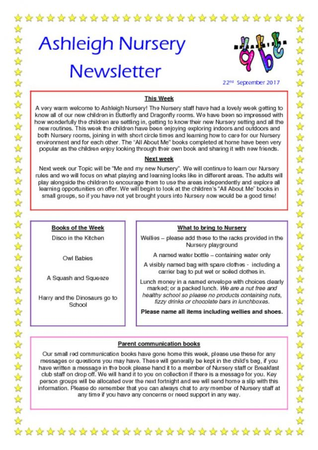 thumbnail of 22 09 17 Nursery Newsletter