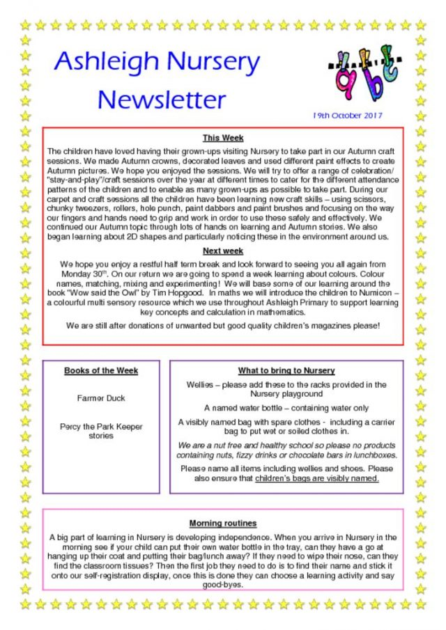 thumbnail of 19 10 17 Nursery Newsletter