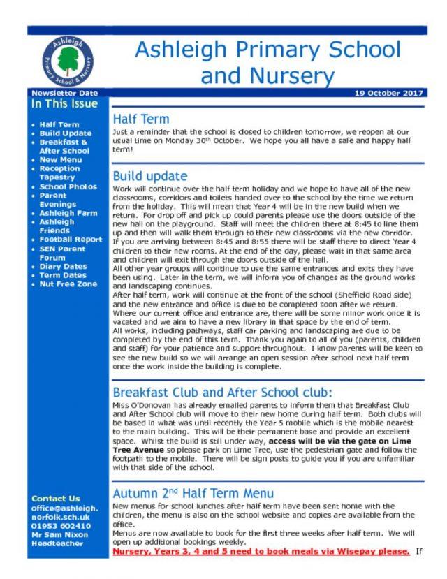 thumbnail of 19 10 17 School Newsletter
