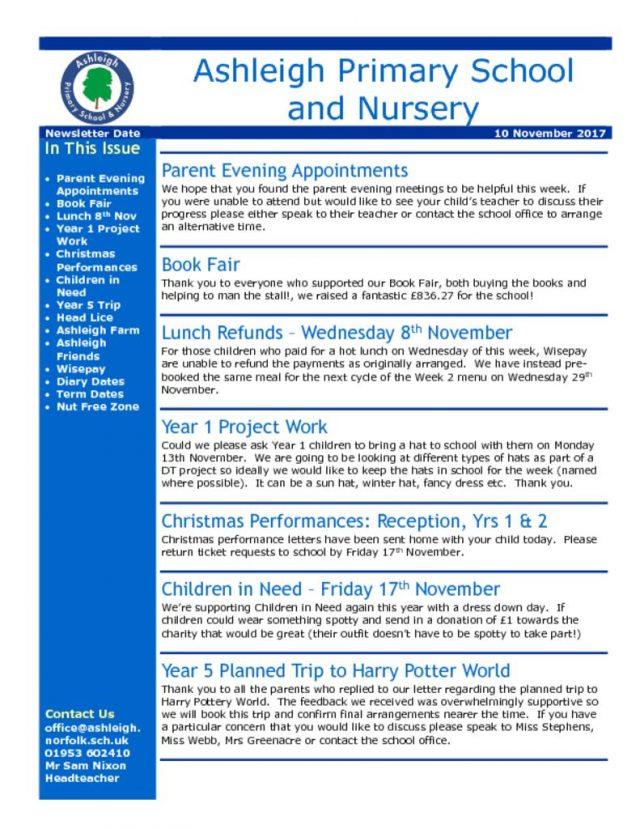 thumbnail of 10 11 17 Ashleigh School Newsletter