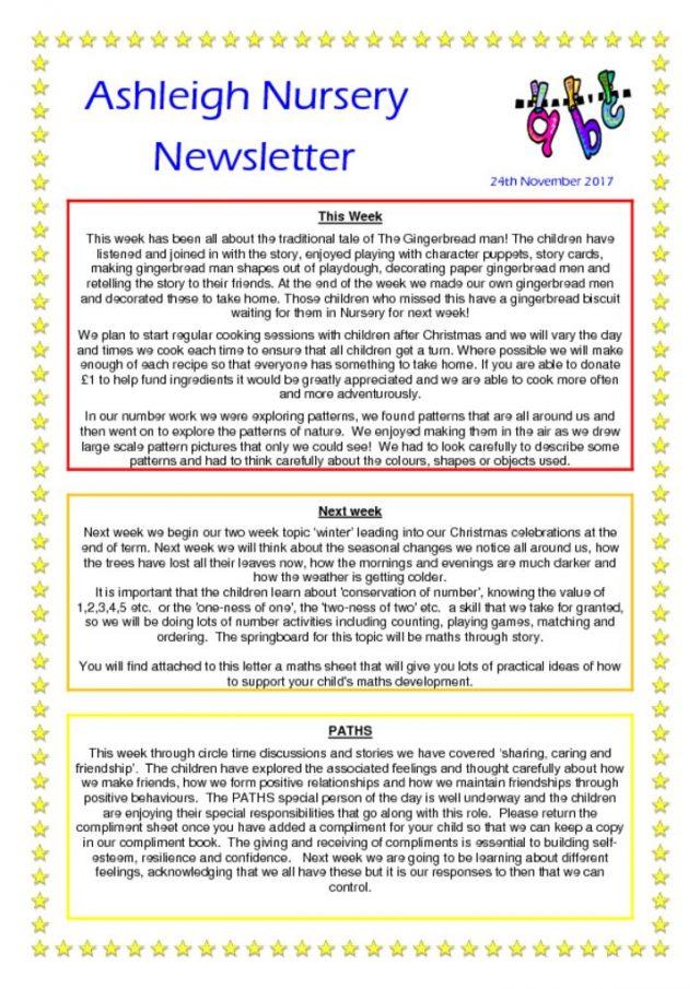 thumbnail of 24 11 17 Ashleigh Nursery Newsletter