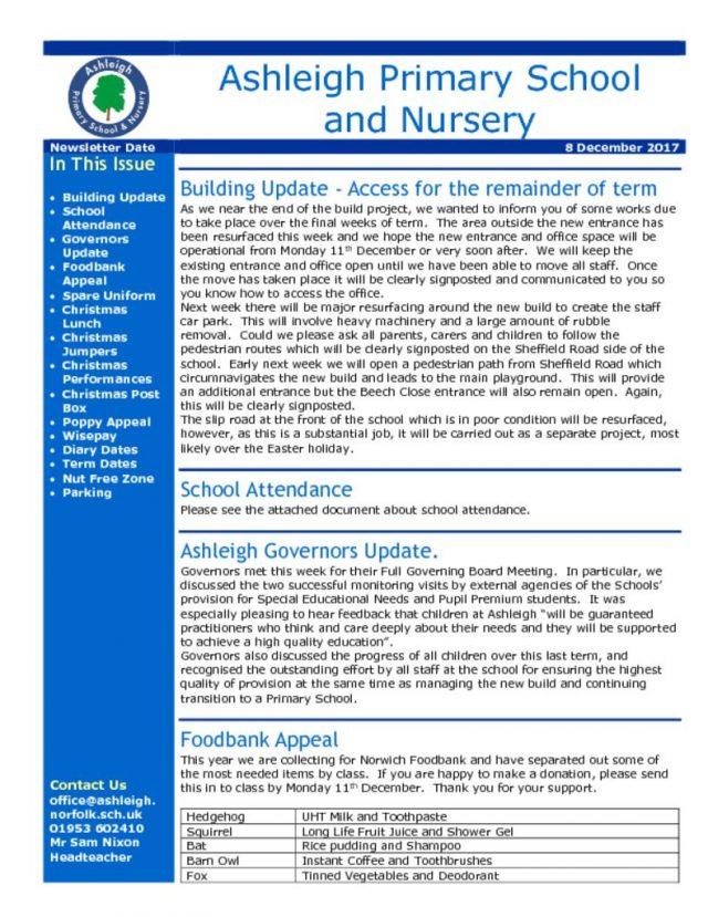 thumbnail of 08 12 17 Ashleigh School Newsletter