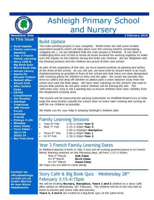 thumbnail of 02 02 18 Ashleigh School Newsletter
