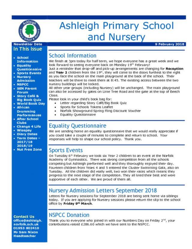 thumbnail of 09 02 18 Ashleigh School Newsletter
