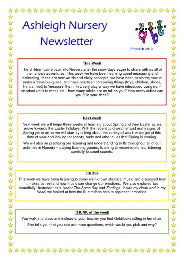thumbnail of 09 03 18 Ashleigh Nursery Newsletter