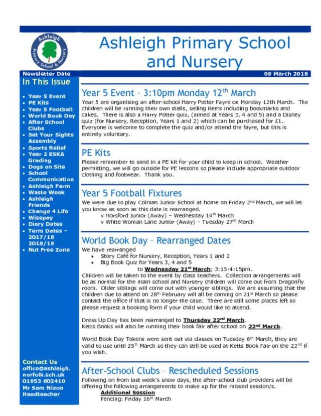 thumbnail of 09 03 18 Ashleigh School Newsletter