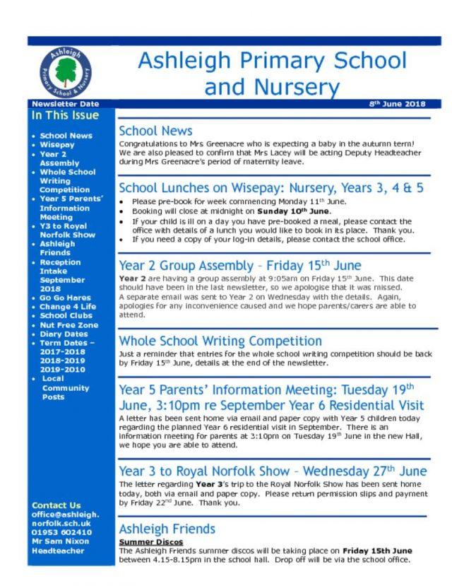 thumbnail of 08 06 18 Ashleigh School Newsletter