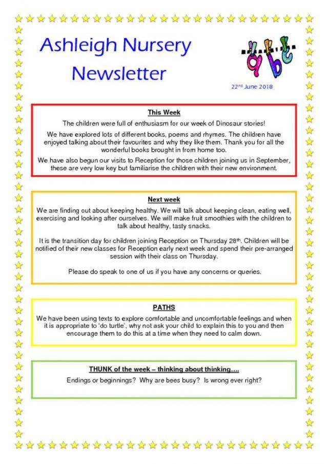 thumbnail of 22 06 18 Ashleigh Nursery Newsletter