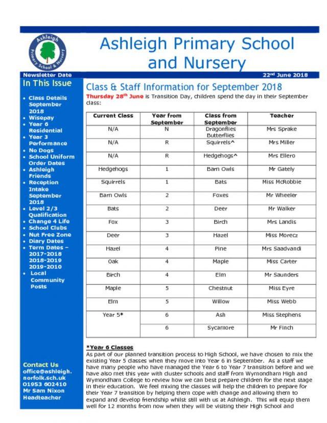 thumbnail of 22 06 18 Ashleigh School Newsletter