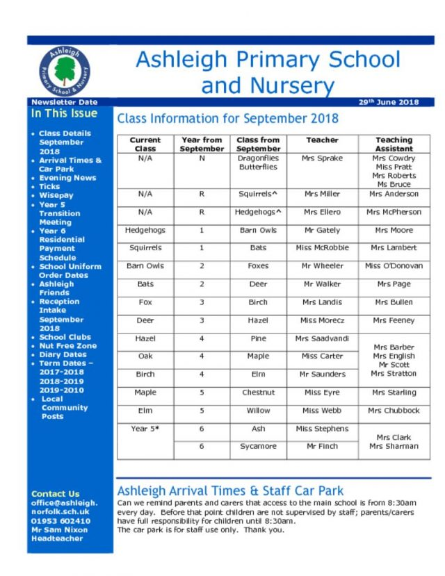 thumbnail of 29 06 18 Ashleigh School Newsletter