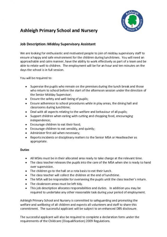 thumbnail of MSA Job Description