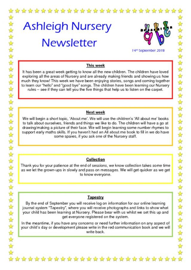 thumbnail of 14 09 18 Ashleigh Nursery Newsletter