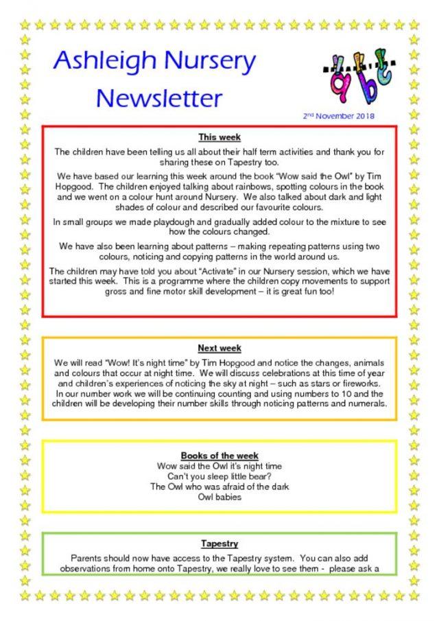 thumbnail of 02 11 18 Ashleigh Nursery Newsletter