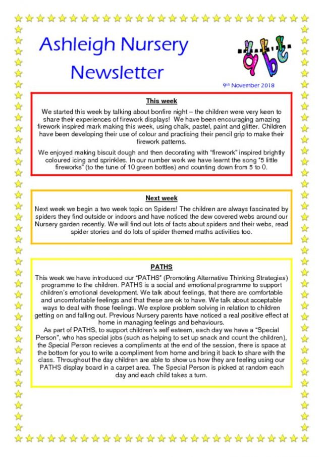 thumbnail of 09 11 18 Ashleigh Nursery Newsletter