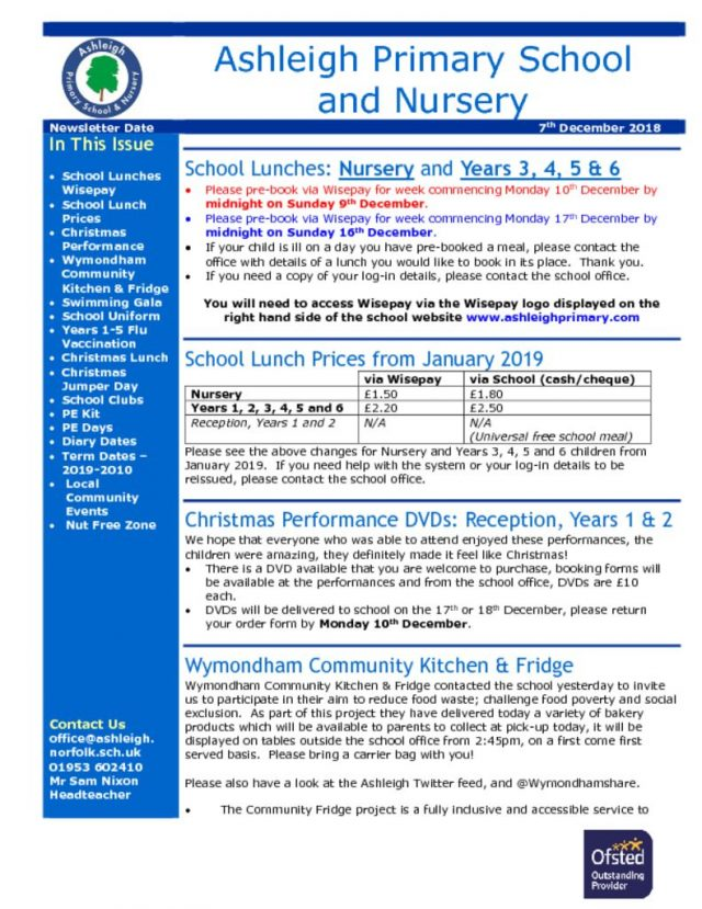 thumbnail of 07 12 18 Ashleigh School Newsletter