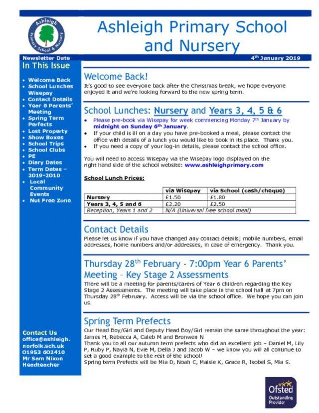 thumbnail of 04 01 19 Ashleigh School Newsletter