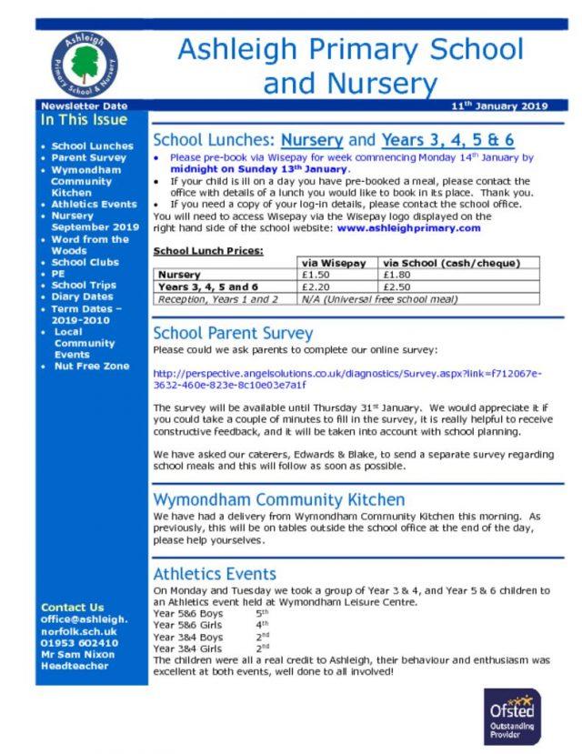 thumbnail of 11 01 19 Ashleigh School Newsletter