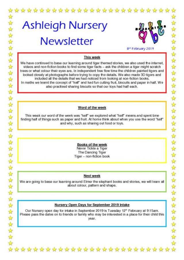 thumbnail of 08 02 19 Ashleigh Nursery Newsletter