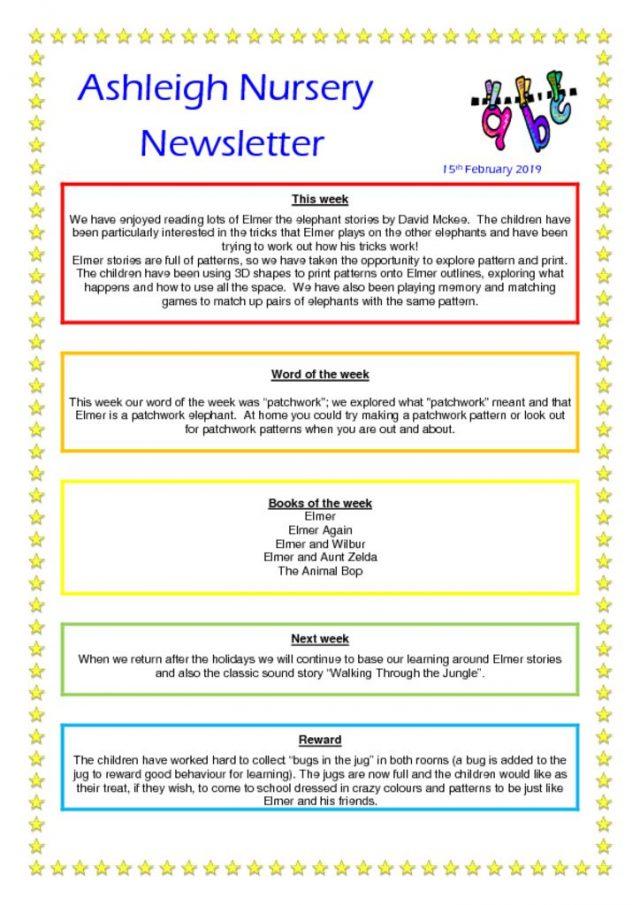 thumbnail of 15 02 19 Ashleigh Nursery Newsletter