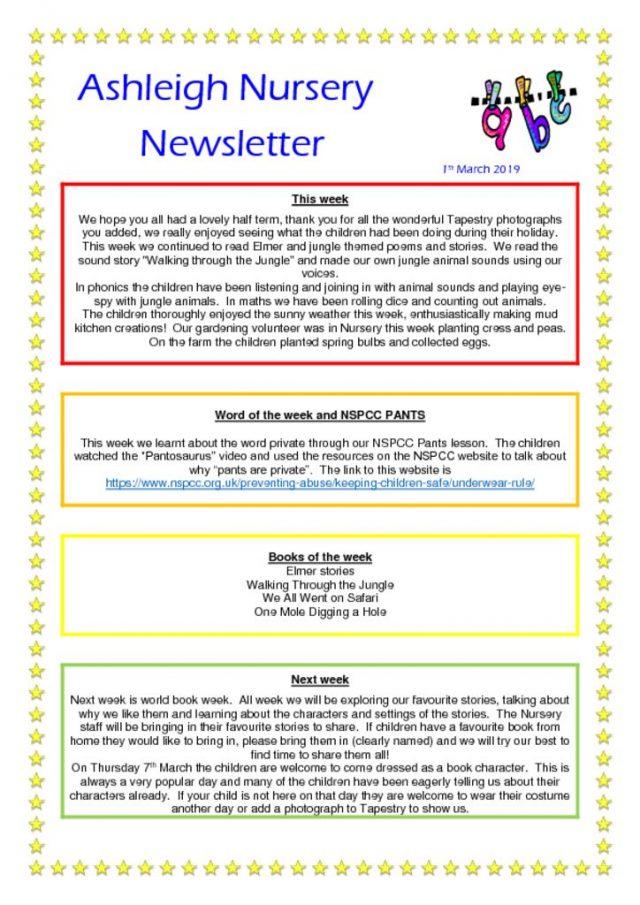 thumbnail of 01 03 19 Ashleigh Nursery Newsletter