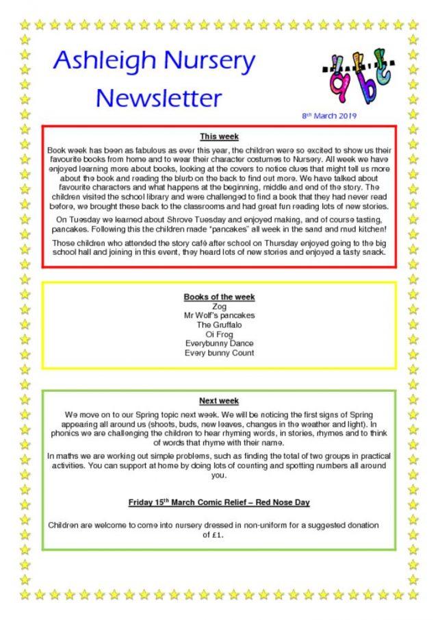 thumbnail of 08 03 19 Ashleigh Nursery Newsletter