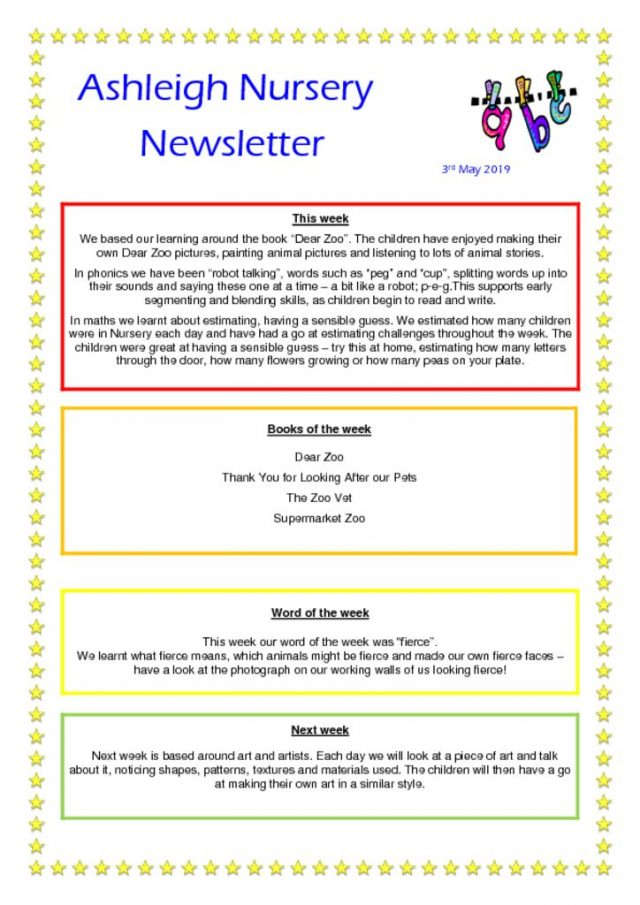thumbnail of 03 05 19 Ashleigh Nursery Newsletter
