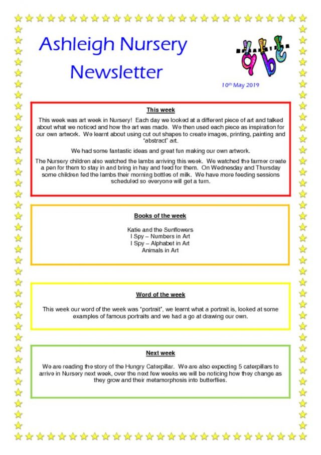 thumbnail of 10 05 19 Ashleigh Nursery Newsletter