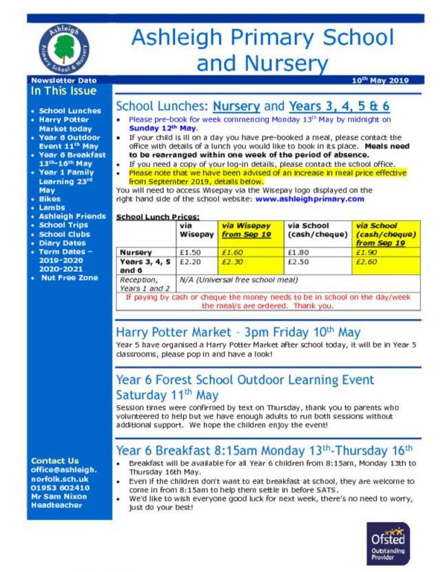 thumbnail of 10 05 19 Ashleigh School Newsletter