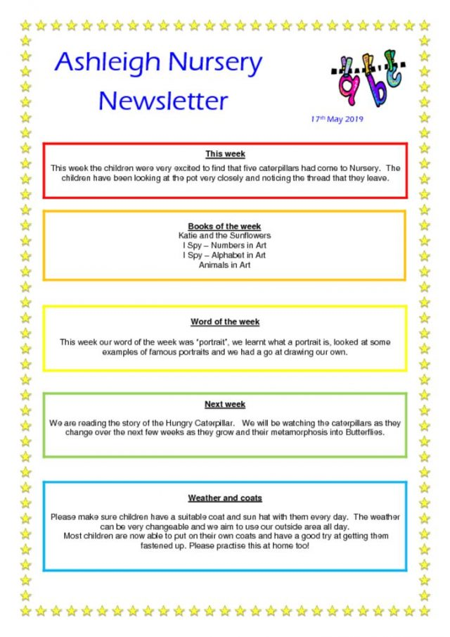 thumbnail of 17 05 19 Ashleigh Nursery Newsletter