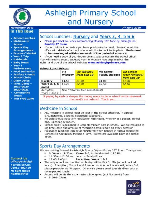 thumbnail of 07 06 19 Ashleigh School Newsletter