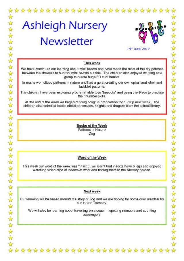 thumbnail of 14 06 19 Ashleigh Nursery Newsletter