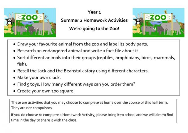 thumbnail of 6_We're going to the zoo_Summer 2_Homework