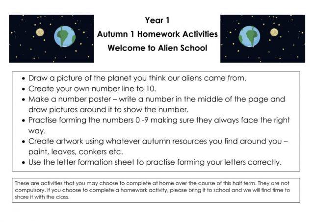 thumbnail of 1_Welcome to Alien School _Autumn 1 Homework