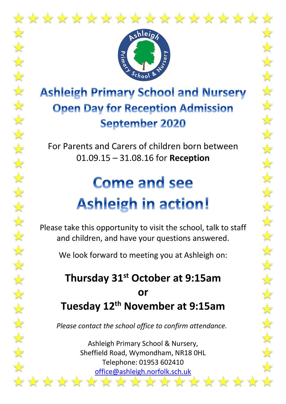 Reception-Open-Day-November-2019