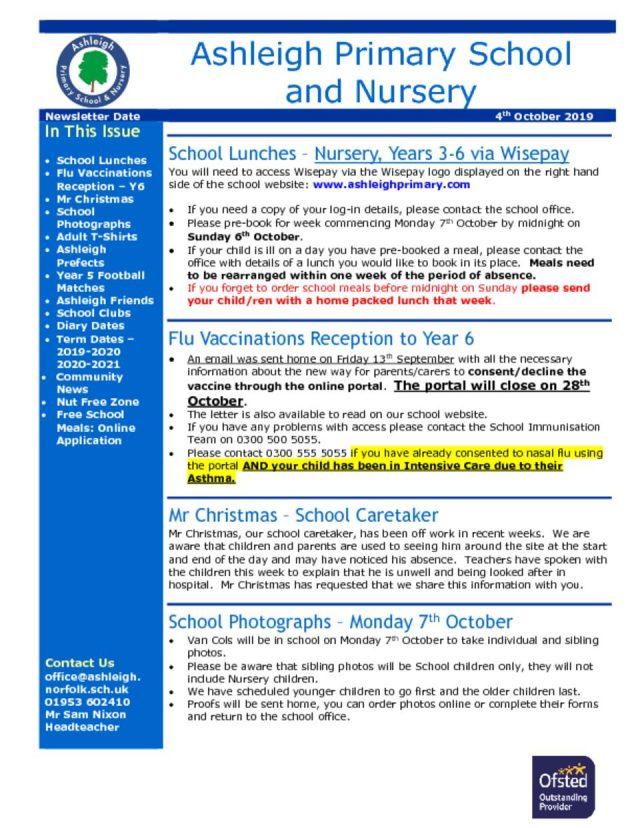 thumbnail of 04 10 19 Ashleigh School Newsletter