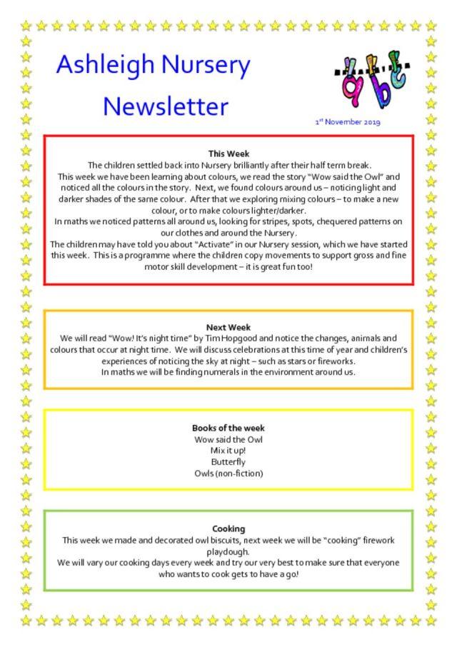 thumbnail of 01 11 19 Ashleigh Nursery Newsletter