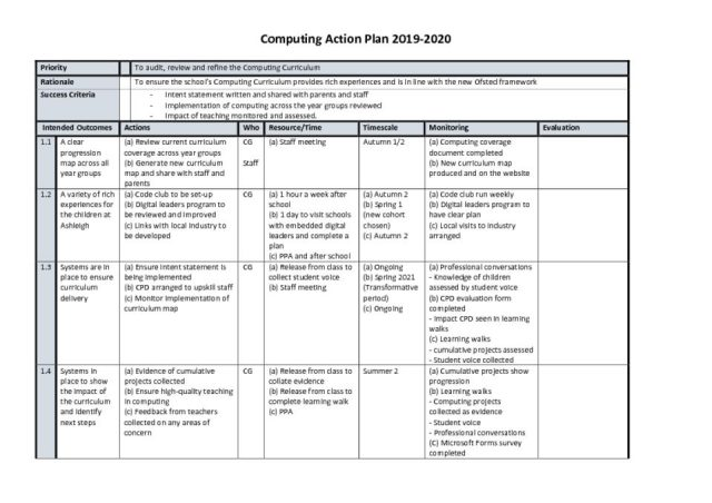 thumbnail of Action plan