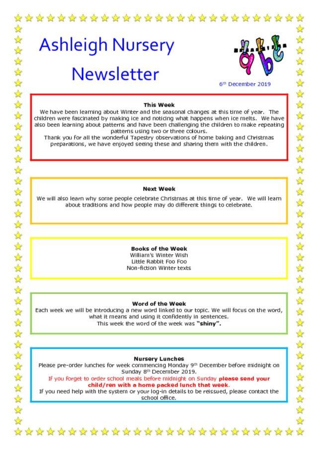 thumbnail of 06 12 19 Ashleigh Nursery Newsletter