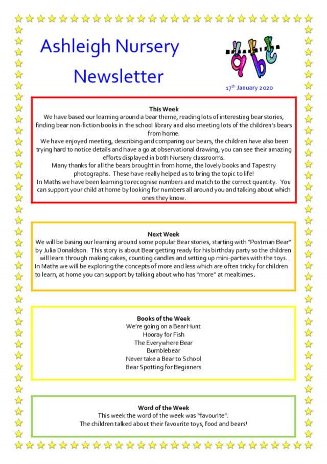 thumbnail of 17 01 20 Ashleigh Nursery Newsletter