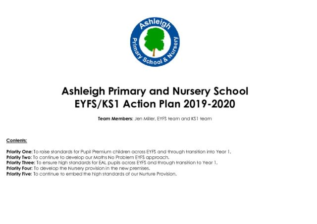 thumbnail of EYFS Action Plan 2019-2020